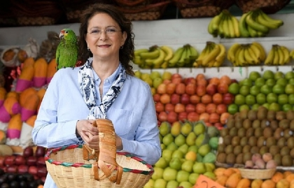 Sonia Ortiz recorre mercados mexicanos en la nueva serie de El Gourmet