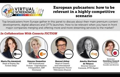 Conecta Fiction destacará el rol de los canales públicos Europeos