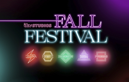ITV Studios unveiled its upcoming Fall Festival this Autumn