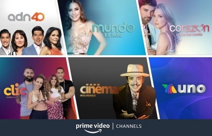 Azteca Uno llega a Amazon Prime Channels