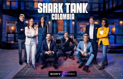 """La nueva temporada de """"Shark Tank Colombia"""" llega a Sony Channel"""