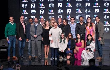 """TV Azteca reabre su fábrica de ficción con """"Un día para vivir"""""""