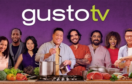 Gusto TV original series nominate at the Content Innovation Awards