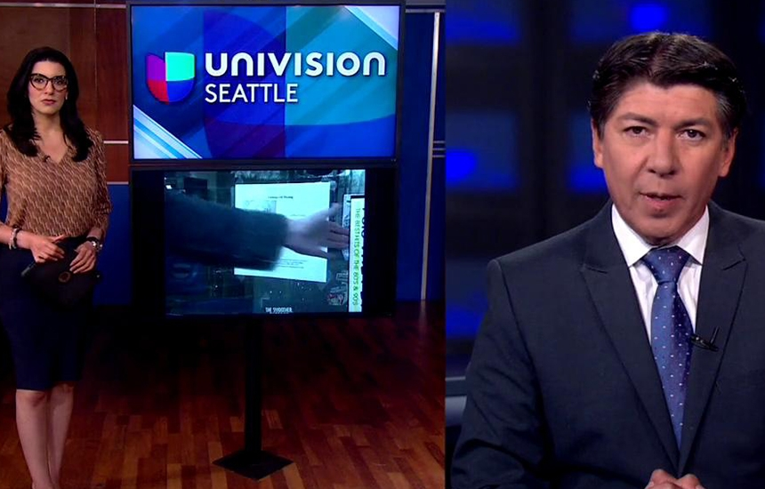 Univision reaches more Hispanic viewers than any other network in the USA