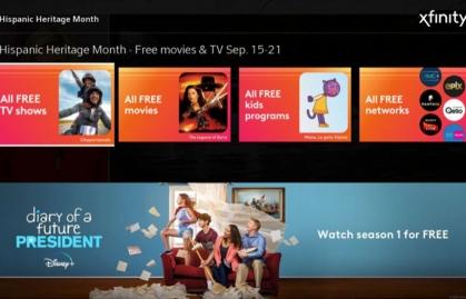 Comcast Xfinity celebra el Mes de la Herencia Hispana con nuevo contenido gratuito