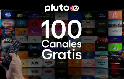 Pluto TV crece en América Latina y llega a 100 canales en español y 50 en portugués