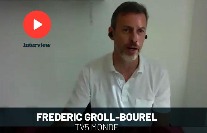 """Frederic Groll-Bourel: """"TV5 Monde tiene una audiencia exigente y fiel"""""""