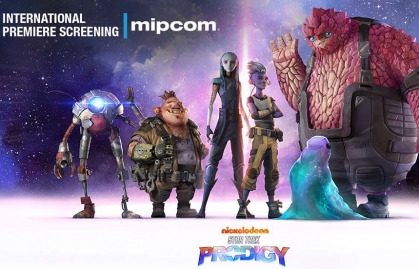 "Mipcom 2021:Nickelodeon Animation Studio will premiere ""Star Trek: Prodigy"""