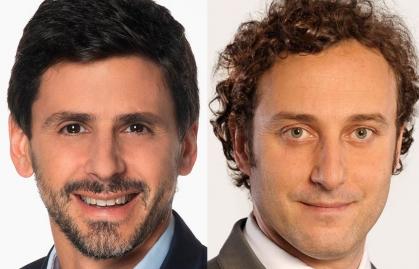 Darío Turovelzky y Juan Ignacio Vicente, nuevo liderazgo para Chilevisión