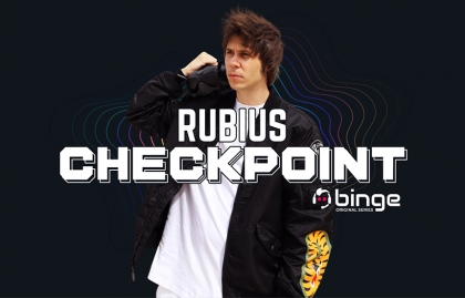 "Binge platform and El Rubius partner in ""Rubius Checkpoint"""