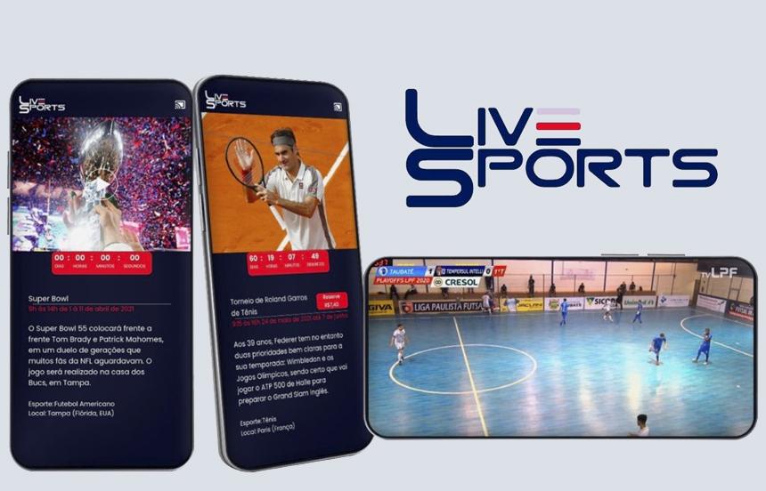 LiveSports lanza en Brasil su App B2B para sus transmisiones por streaming