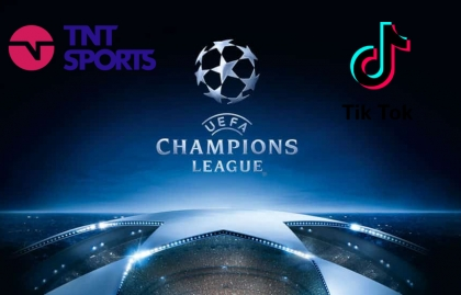 TikTok y TNT Sports firmam acuerdo para la UEFA Champions League en Brasil y México