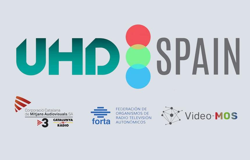 Forta, TV3 y Video-MOS, nuevos socios de la asociación UHD Spain