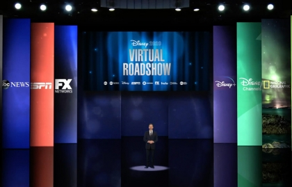 Disney plans an in-person upfront presentation in a new location for 2022