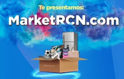 Canal RCN presenta la primera plataforma de comercio online MarketRCN